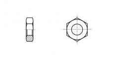https://dinmark.com.ua/images/DIN 439 Гайка шестигранна низька