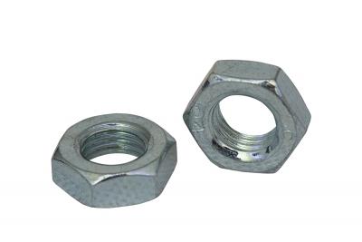 DIN 439 04 цинк Гайка низкая шестигранная с левой резьбой и мелким шагом