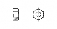 https://dinmark.com.ua/images/ISO 4032 Гайка шестигранна