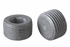 DIN 906 цинк платков Заглушка резьбовая с дюймовой резьбой