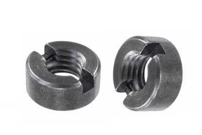 DIN 546 A4 Гайка кругла шліцева