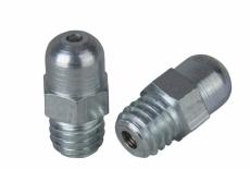 DIN 3402-A цинк Пресмаслянка різьбова 180 градусів шестигранник