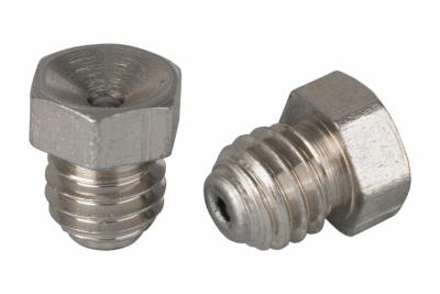 DIN 3405-A А1 Пресмаслянка різьбова 180 градусів шестигранна головка