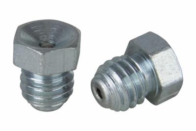 DIN 3405-A цинк Пресмаслянка різьбова 180 градусів шестигранна головка