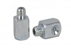 DIN 3405 C цинк Пресс-масленка угловая 90 градусов квадрат