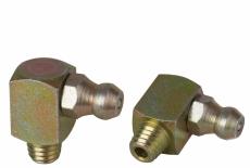 DIN 71412 CS цинк желтый Пресс-масленка с самонарезающие резьбой 90 градусов