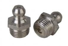 DIN 71412 А А1 Пресс-масленка гидравлическая прямая 180 градусов