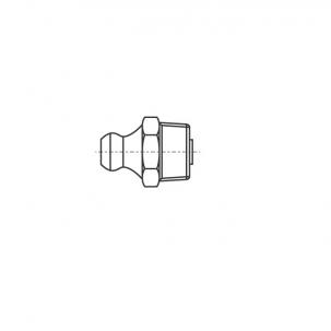 DIN 71412-А А4 Пресмаслянка гідравлічна пряма 180 градусів