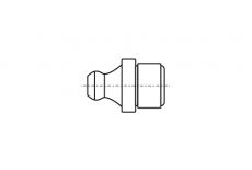 DIN 71412- A A1 Пресмаслянка під запресовку 180 градусів