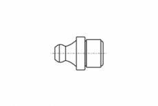 DIN 71412- A цинк Пресмасленка під запресовку 180 градусів