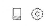 https://dinmark.com.ua/images/АN 117 Гайка цилиндрическая с трацепевидной резьбой