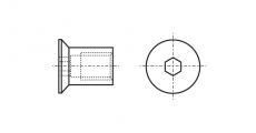 https://dinmark.com.ua/images/ART 9062 Гайка-муфта с внутренним шестигранником