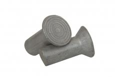 DIN 661 AL Заклепка під молоток з потайною головкою