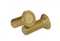 DIN 661 латунь Заклепка под молоток с потайной головкой