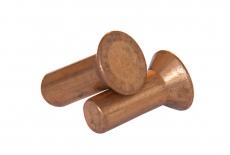 DIN 661 медь Заклепка под молоток с потайной головкой