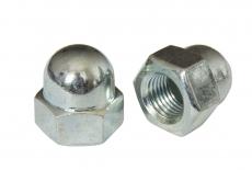 DIN 1587 6 цинк Гайка колпачковая с мелким шагом