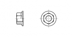 https://dinmark.com.ua/images/DIN 6923 Гайка шестигранная с фланцем