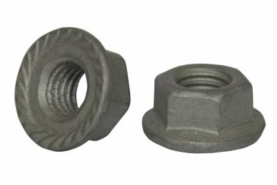 DIN 6923 8 цинк платковий Гайка шестигранна з фланцем зубчаста - Dinmark