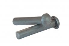 DIN 660 A4 Заклепка під молоток з напівкруглою головкою