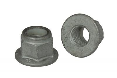 DIN 6926 10 цинк платковый Гайка самоконтрящаяся с фланцем
