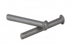 DIN 660 AL Заклепка під молоток з напівкруголою головкою