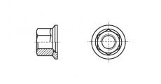 https://dinmark.com.ua/images/DIN 74361 H Гайка сферическая, шестигранная с фланцем