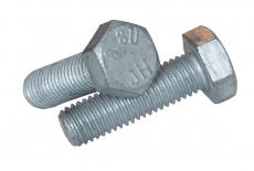 DIN 933 8,8 цинк UNС Болт з шестигранною головкою і повною різьбою, дюймовою різьбою