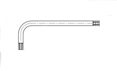 AN 144 цинк Ключ під torx