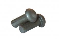 DIN 660 сталь Заклепка під молоток з напівкруголою головкою