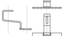 https://dinmark.com.ua/images/ART 9521 Кронштейн крепления для солнечных систем