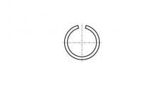 https://dinmark.com.ua/images/DIN 7993-B Кольцо стопорное внутреннее