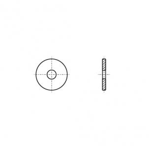 ART 9054 цинк Шайба збільшена - Dinmark