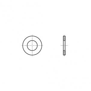 DIN 125 медь Шайба плоская