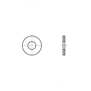 DIN 1441 A2 Шайба плоская