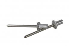 DIN 7337 Al/A2 Заклепка витяжна герметична з плоским буртиком