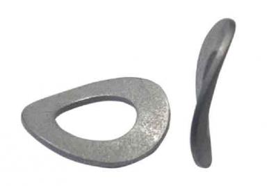 DIN 137 B цинк Шайба пружинная волнистая