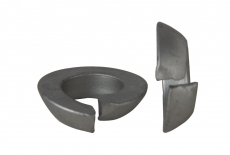 DIN 74361 C цинк платков Гровер усилен