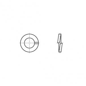 DIN 7980 A2 Шайба пружинна (Гровер) - Dinmark