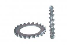 DIN 6797-A цинк Шайба стопорна зубчаста