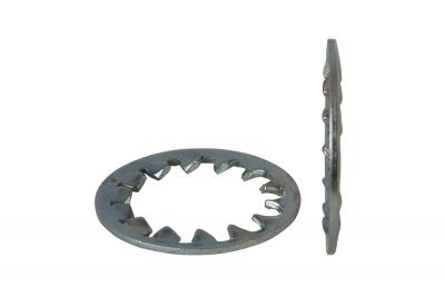 DIN 6797-J цинк Шайба стопорна зубчаста
