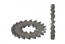 DIN 6798 D цинк Шайба стопорная зубчатая