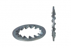 DIN 6798-J цинк Шайба стопорна зубчаста
