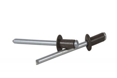 DIN 7337 Al/St Заклепка витяжна мальована з плоским буртиком - Dinmark