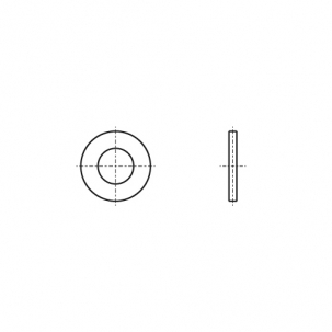 NFE 25-511-M A2 Шайба контактная
