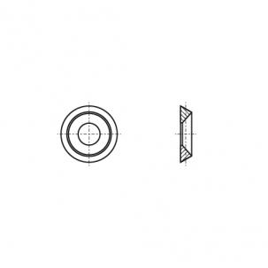 NFE 27-619 A2 Шайба конусная (розетка) - Dinmark