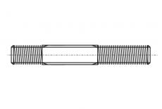 Шпилька DIN 835 M12x55 5,8