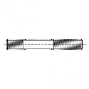 DIN 835 A4 Шпилька різьбова з допуском 2D