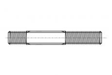 Шпилька DIN 939 M12x60 10,9