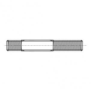 DIN 939 8,8 цинк Шпилька резьбовая с допуском 1,25d