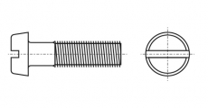 https://dinmark.com.ua/images/DIN 84 Винт с полукруглой головкой и прямым шлицем